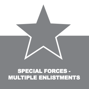 SPECIAL FORCES MULTIPLE ENLISTMENTS